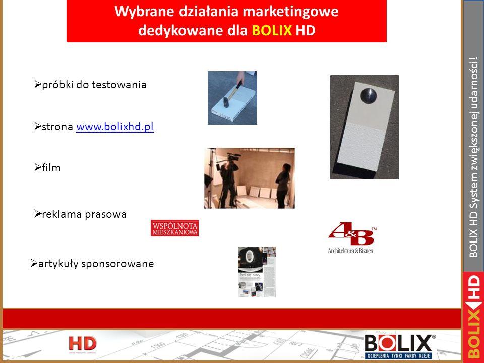II Konferencja handlowa Bolix. Bełchatów 19-21.01.2011r www.bolix.pl BOLIX HD System zwiększonej udarności! Porównanie kosztów wykonania ocieplenia el