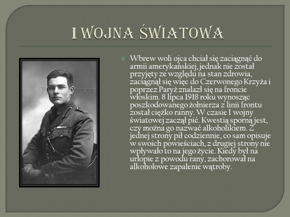 Powróci ł do Ameryki w 1920 i zacz ął pracowa ć dla gazety Toronto Star jako dziennikarz i korespondent zagraniczny.