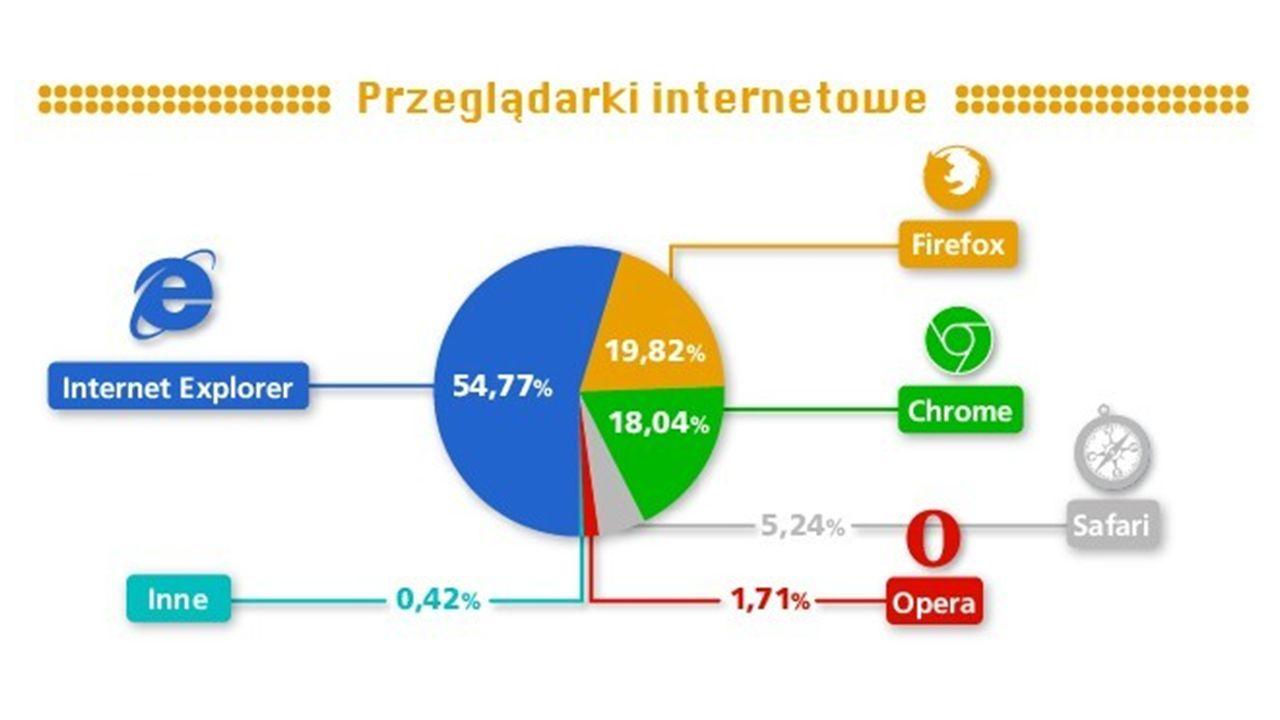 Zakres wykorzystania Internetu