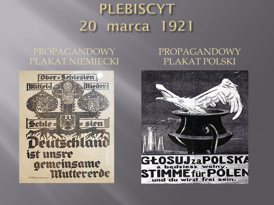 PROPAGANDOWY PLAKAT NIEMIECKI PROPAGANDOWY PLAKAT POLSKI