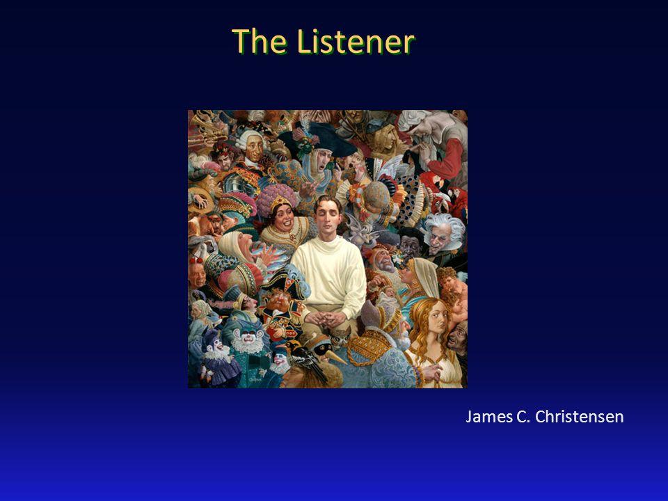The Listener James C. Christensen