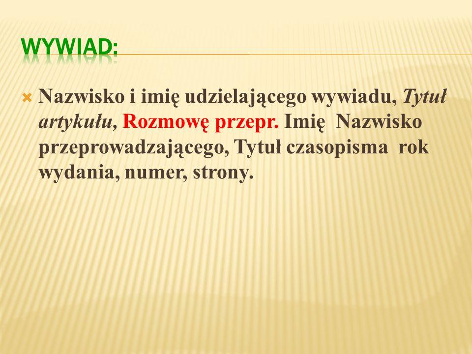 Lepianka Maciej, I w następnym dniu, Warszawa 1996. Rec. Lipka Krzysztof, Granica realizmu i fantazji, Nowe Książki 1997, nr 7, s. 48.
