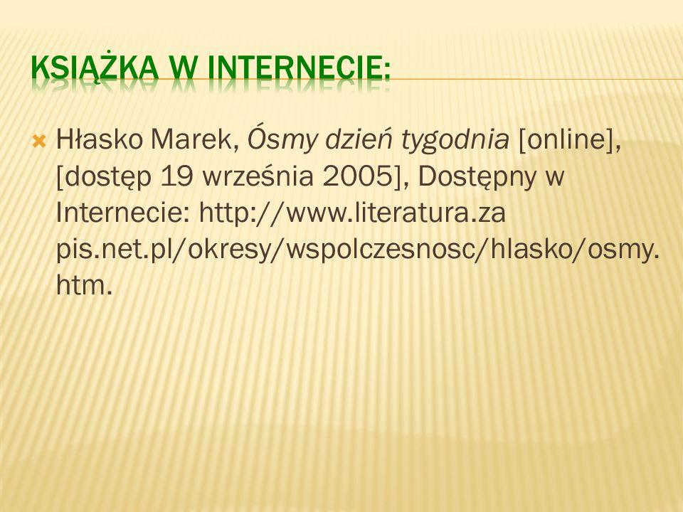 Kopaliński Władysław, Słownik wyrazów obcych i zwrotów obcojęzycznych [CD-ROM], wersja 1.03.16, Promedia CD, Łódź 1998, ISBN 83- 7231-3.