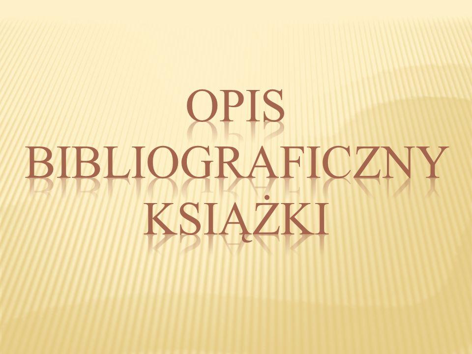 LITERATURA PRZEDMIOTU – to wykaz dokumentów (książki, czasopisma, artykuły, publikacje z Internetu itp.), które autor prezentacji wyszukał i wykorzyst