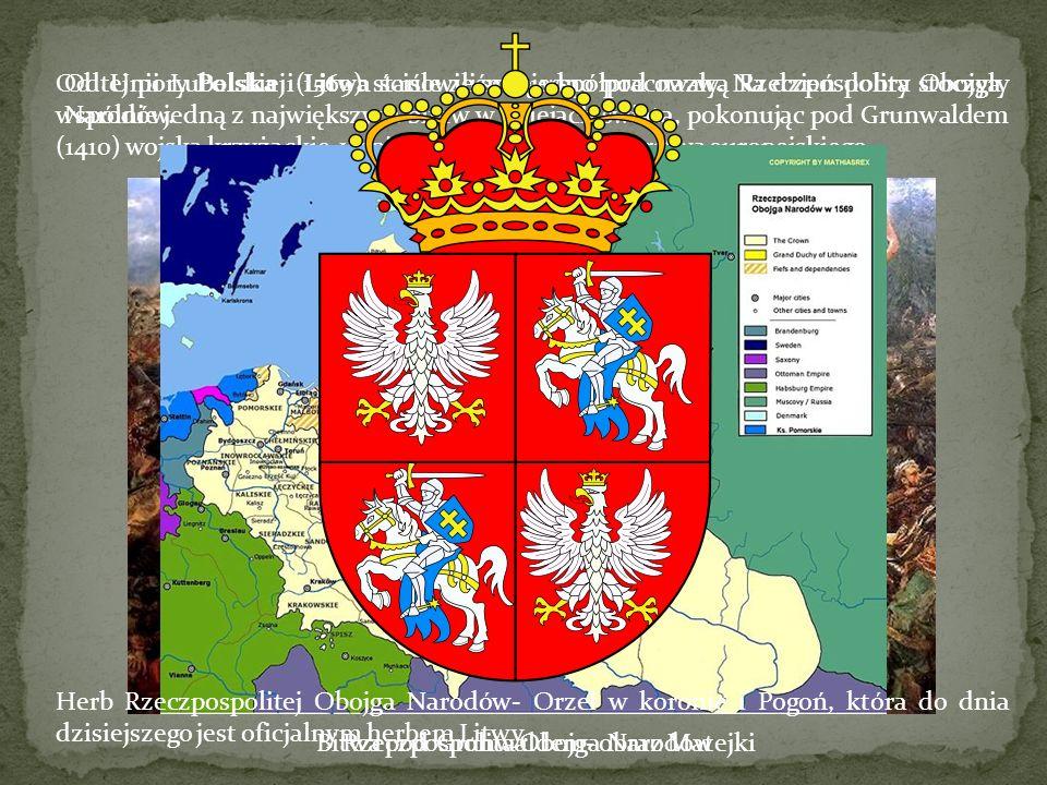 Od tej pory Polska i Litwa ściśle ze sobą współpracowały. Na dzień dobry stoczyły wspólnie jedną z największych bitew w dziejach świata, pokonując pod