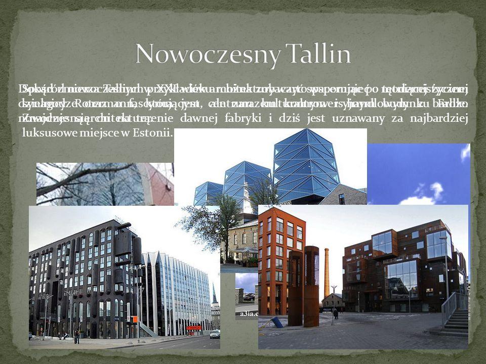 Spośród nowoczesnych przykładów architektury warto wspomnieć o modernistycznej synagodze oraz o fascynującym, ale zarazem kontrowersyjnym budynku Fahl
