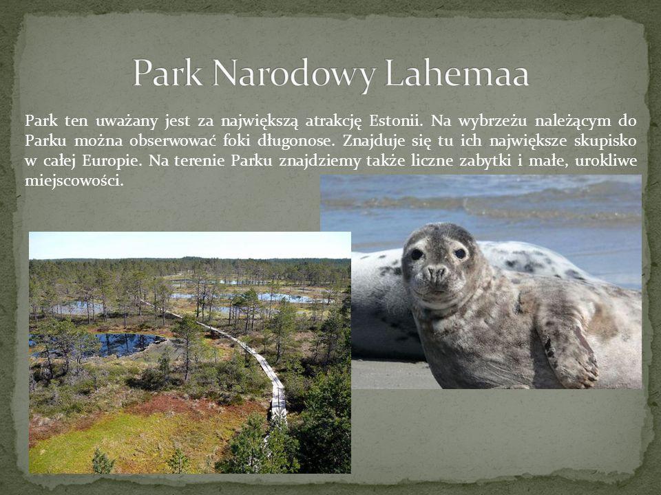 Park ten uważany jest za największą atrakcję Estonii. Na wybrzeżu należącym do Parku można obserwować foki długonose. Znajduje się tu ich największe s