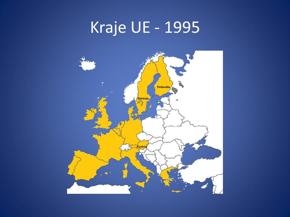 Kraje UE - 1995