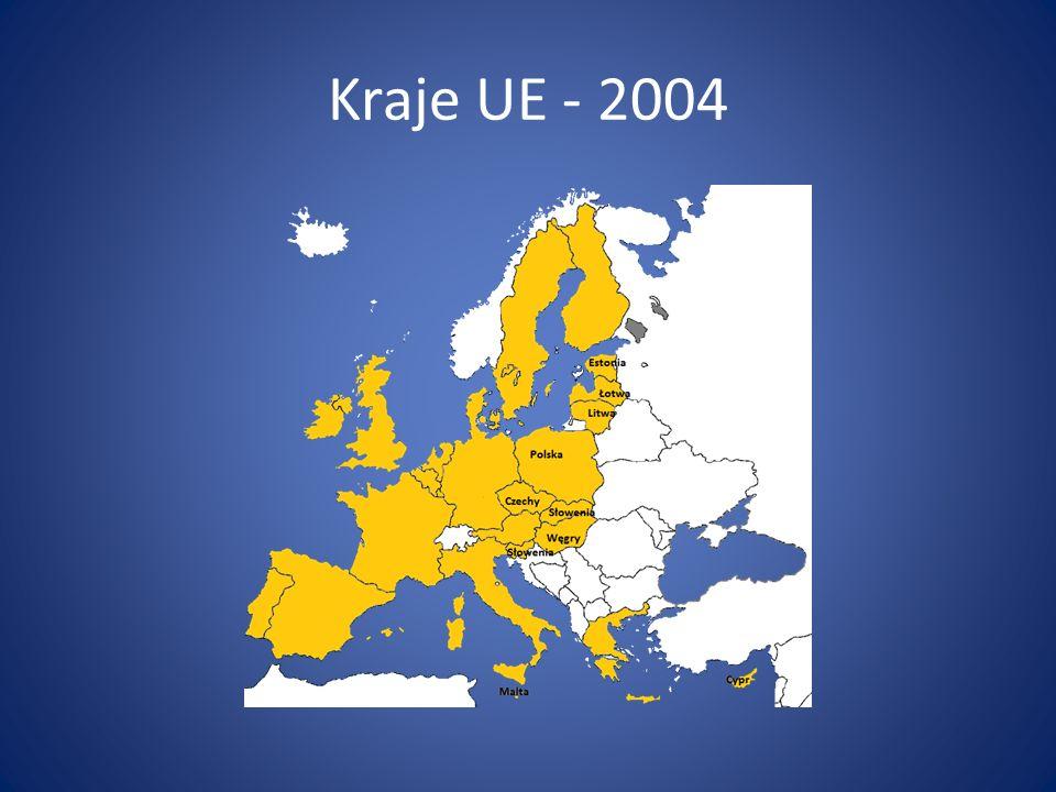 Kraje UE - 2004