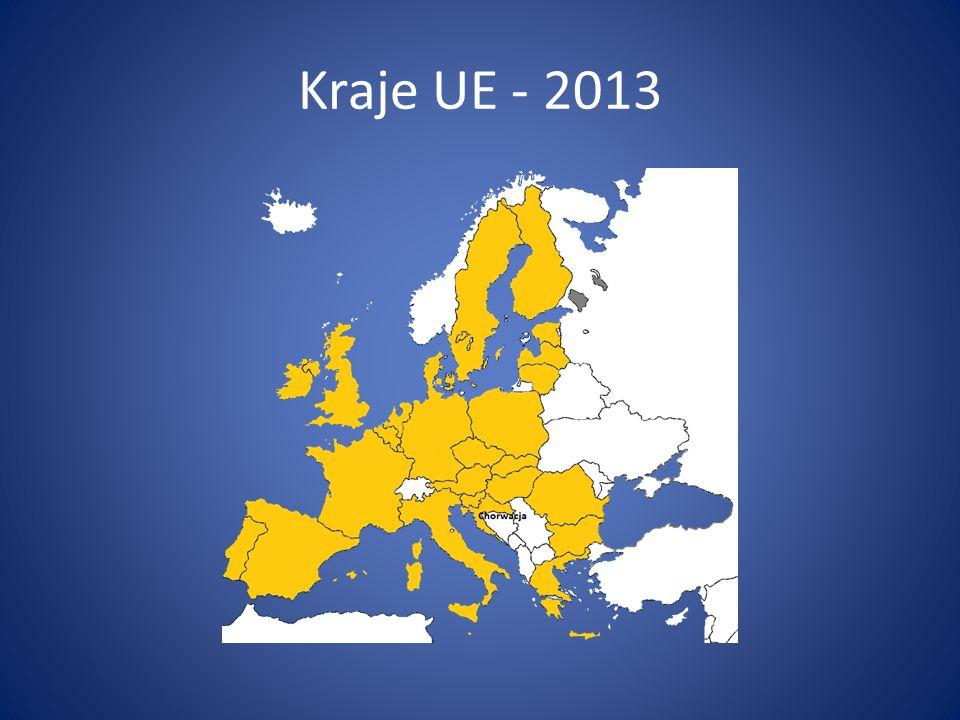 Kraje UE - 2013