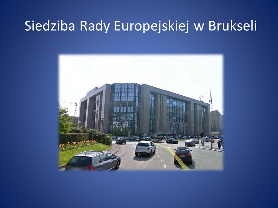 Siedziba Rady Europejskiej w Brukseli
