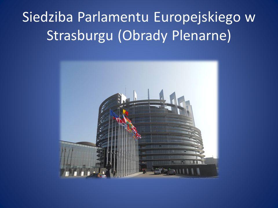 Siedziba Parlamentu Europejskiego w Strasburgu (Obrady Plenarne)