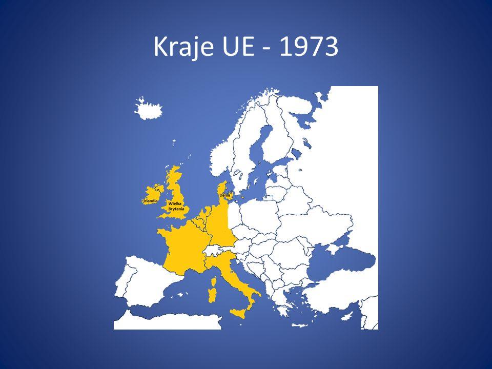 Kraje UE - 1973