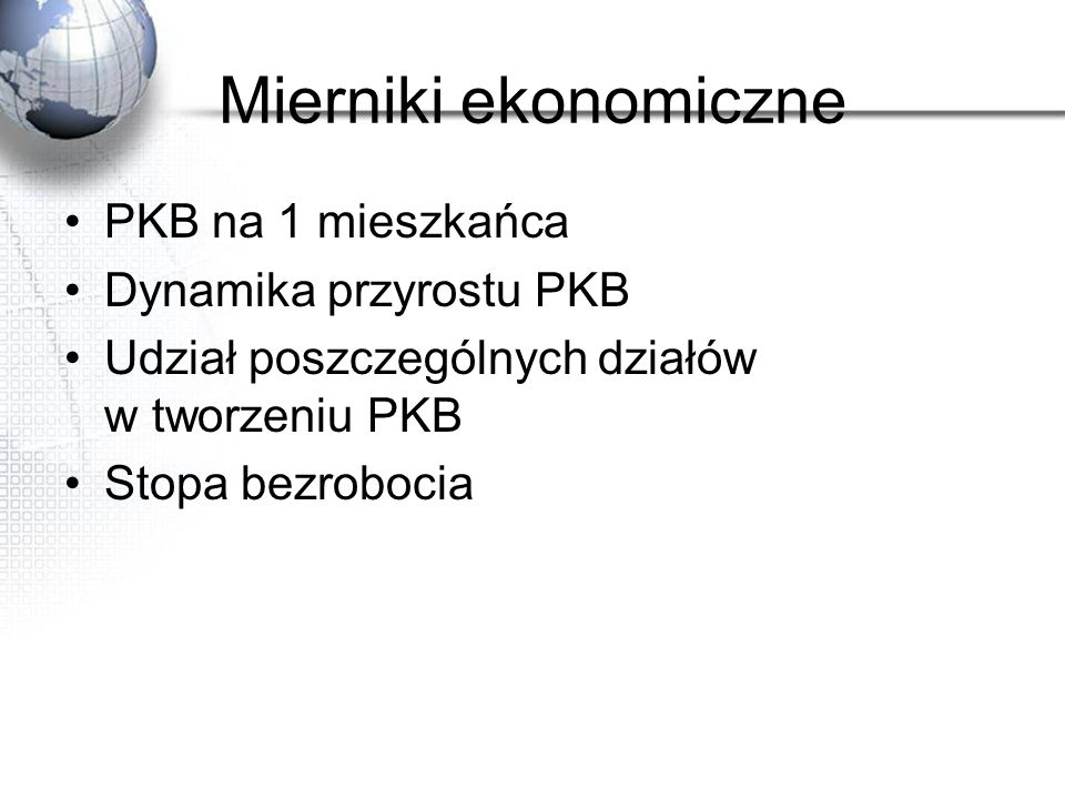 Cechy KWR