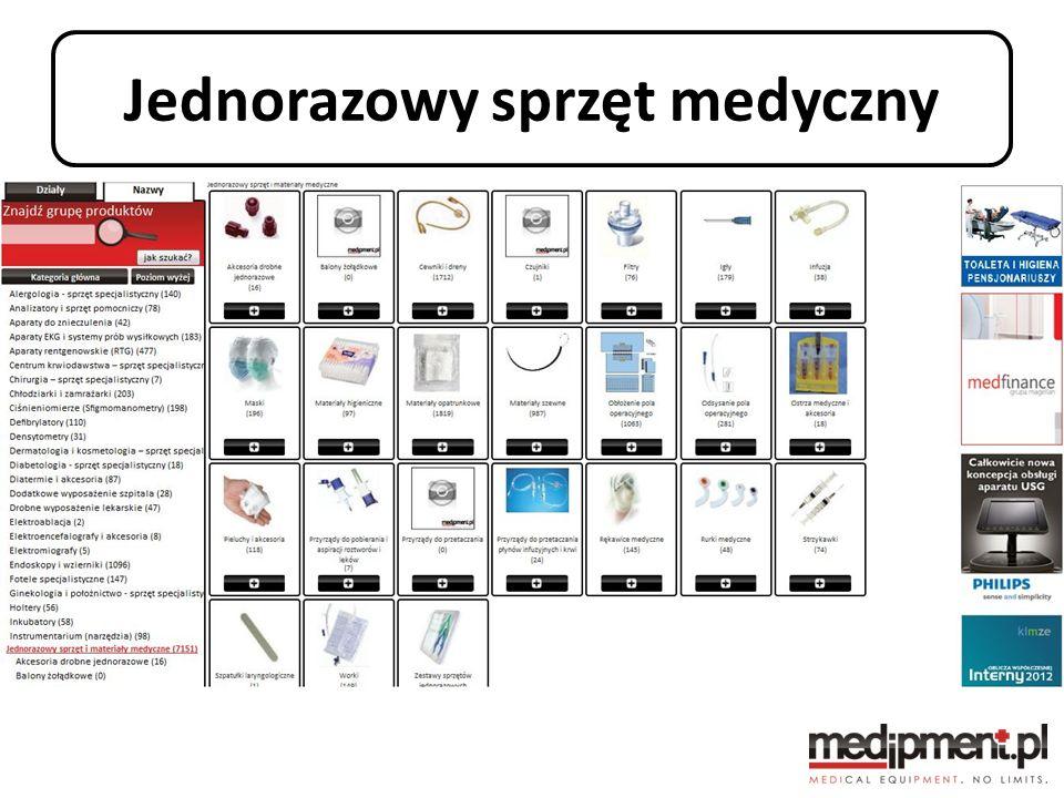 Jednorazowy sprzęt medyczny