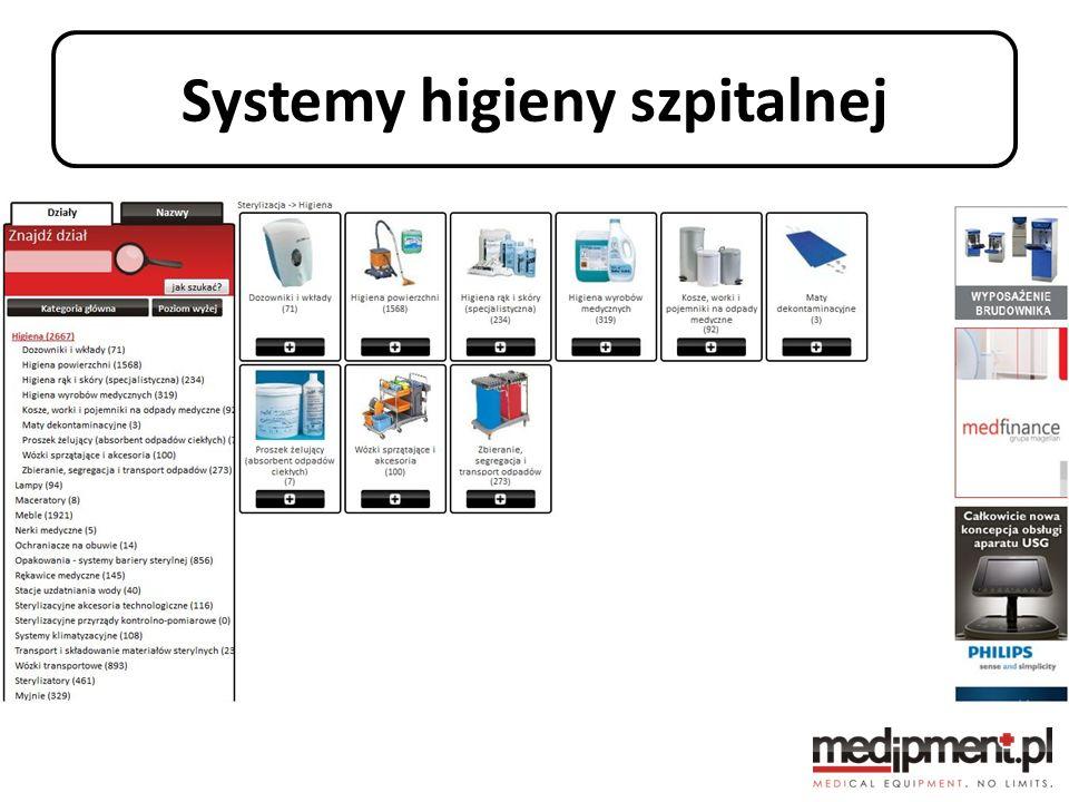 Systemy higieny szpitalnej