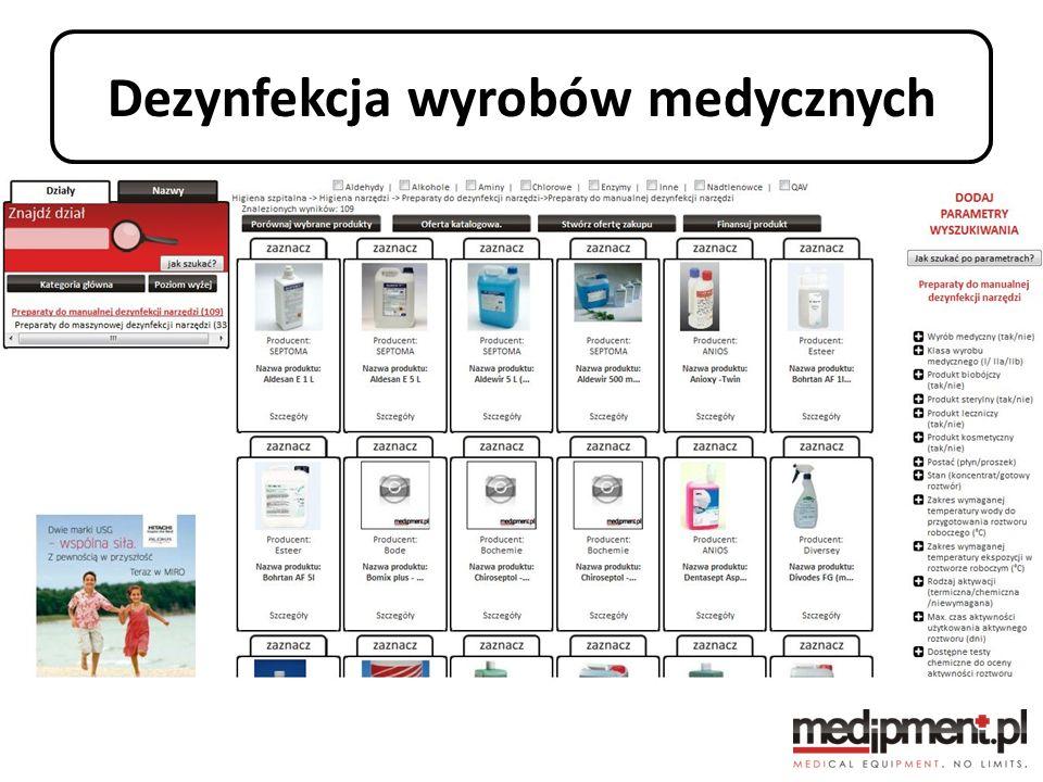 Dezynfekcja wyrobów medycznych