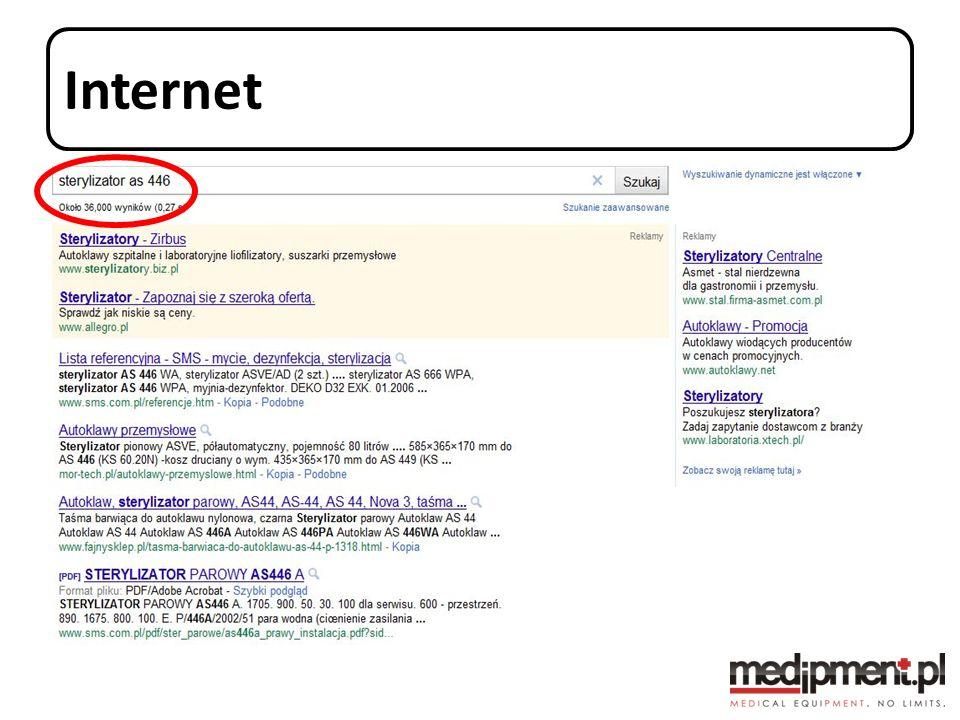 Wyszukiwanie po wizytówce dystrybutora