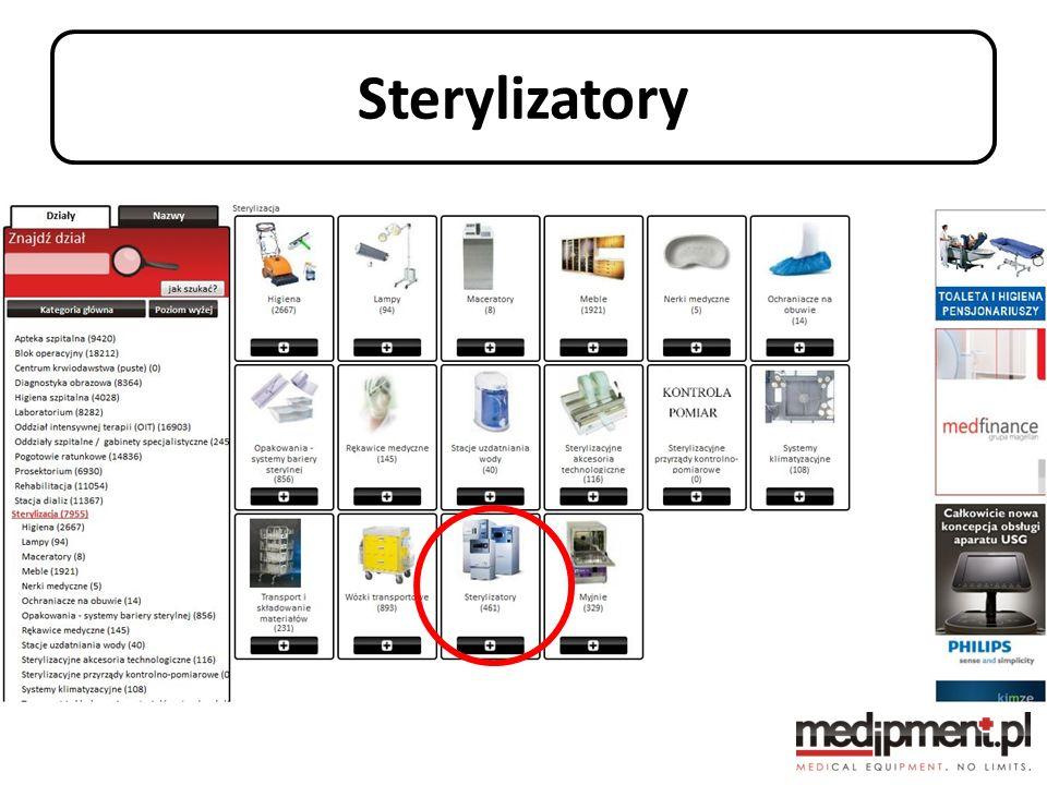 Podsumowanie 40000 sprzętów medycznych w jednym miejscu Zapytania bezpośrednio do dystrybutorów Zaofertowanie kompleksowych zapotrzebowań sprzętowych