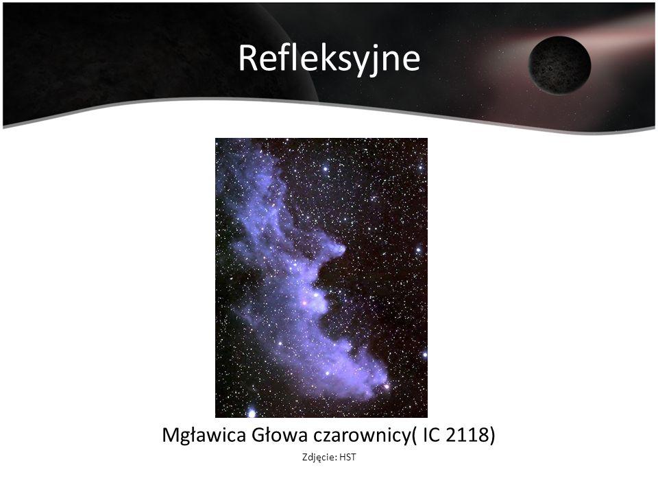 Refleksyjne Mgławica Głowa czarownicy( IC 2118) Zdjęcie: HST