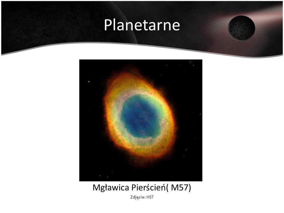Planetarne Mgławica Pierścień( M57) Zdjęcie: HST