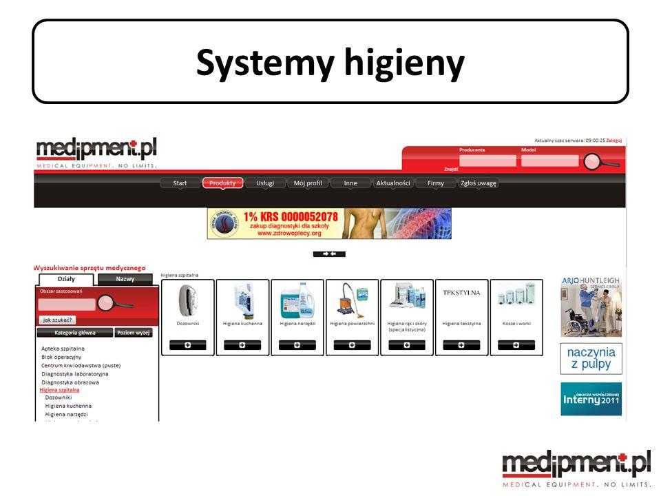 Systemy higieny