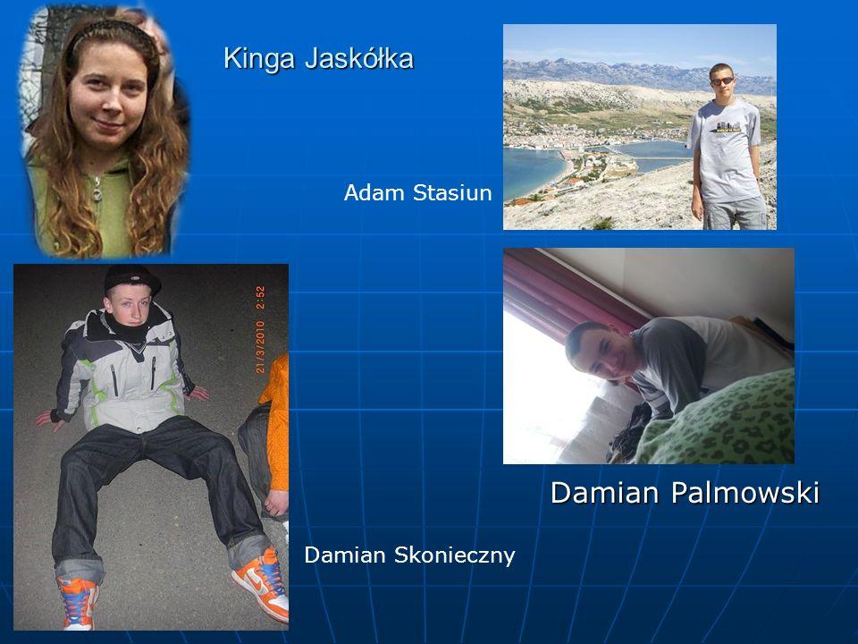 Kinga Jaskółka Damian Palmowski Adam Stasiun Damian Skonieczny