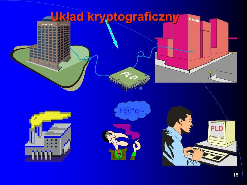 16 F@*q~ PLD Układ kryptograficzny