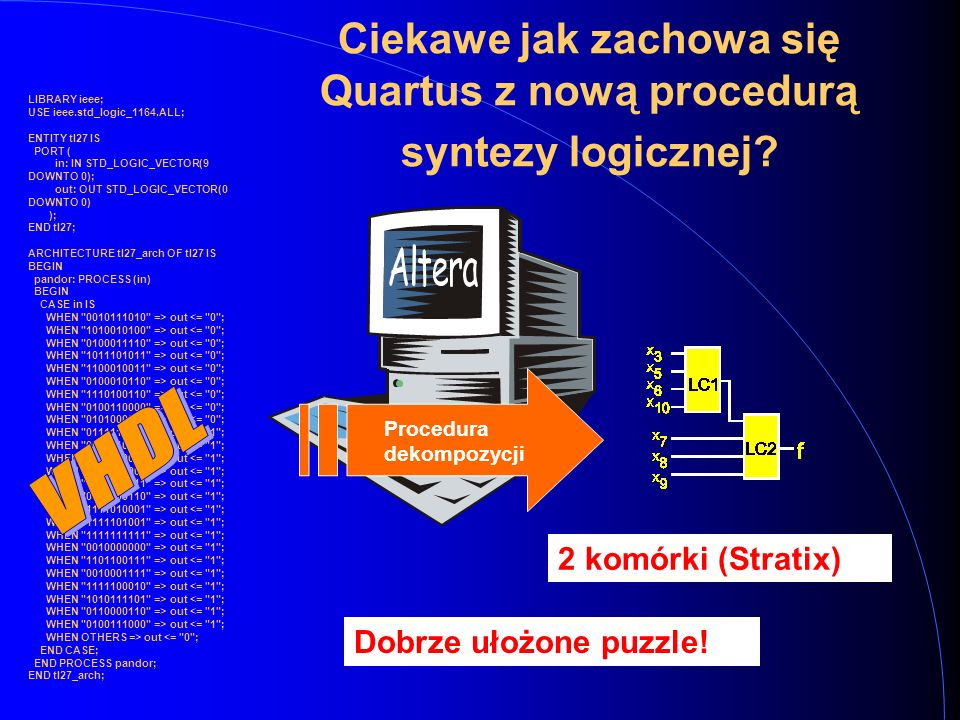 LIBRARY ieee; USE ieee.std_logic_1164.ALL; ENTITY tl27 IS PORT ( in: IN STD_LOGIC_VECTOR(9 DOWNTO 0); out: OUT STD_LOGIC_VECTOR(0 DOWNTO 0) ); END tl2
