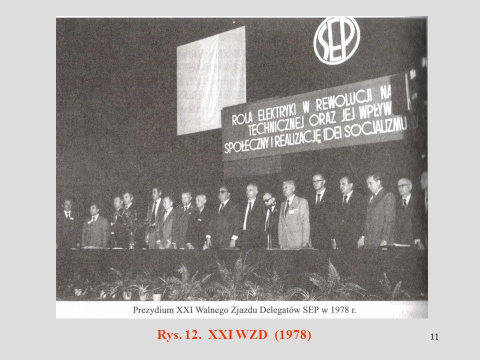 11 Rys. 12. XXI WZD (1978)
