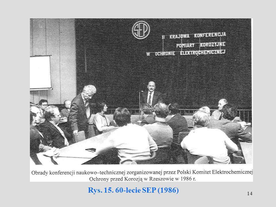 14 Rys. 15. 60-lecie SEP (1986)