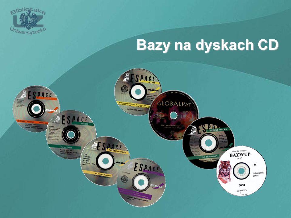 Bazy na dyskach CD