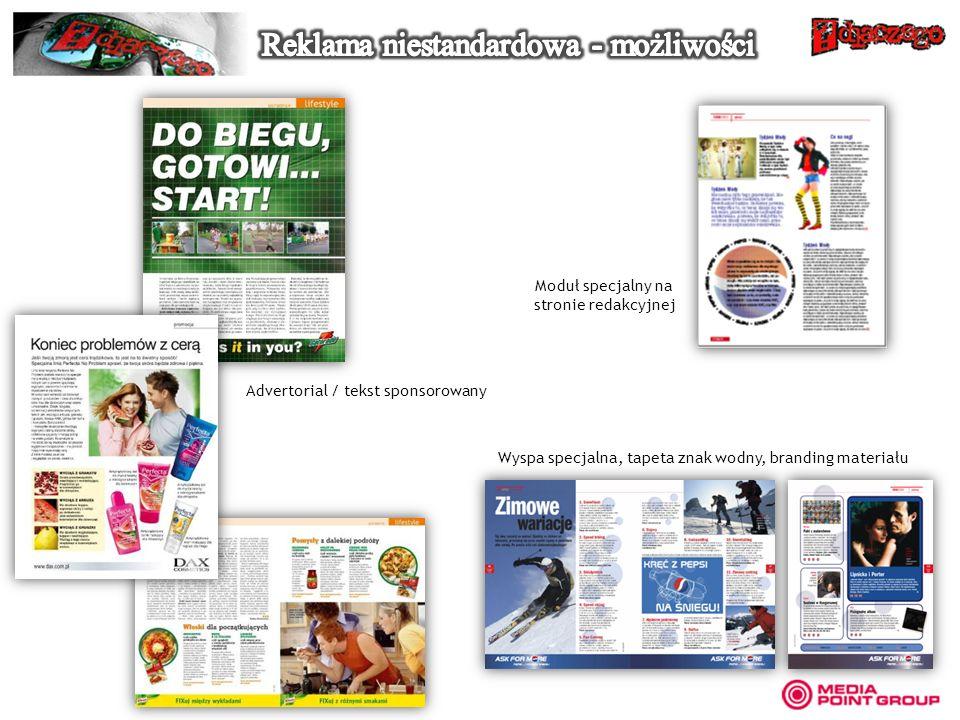 Wyspa specjalna, tapeta znak wodny, branding materiału Advertorial / tekst sponsorowany Moduł specjalny na stronie redakcyjnej