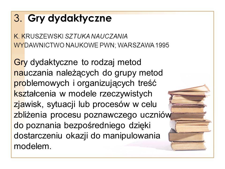 Gry dydaktyczne c.d.
