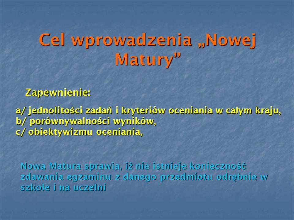 Egzamin maturalny z j ę zyka obcego nowo ż ytnego : a) Od 2005 r.