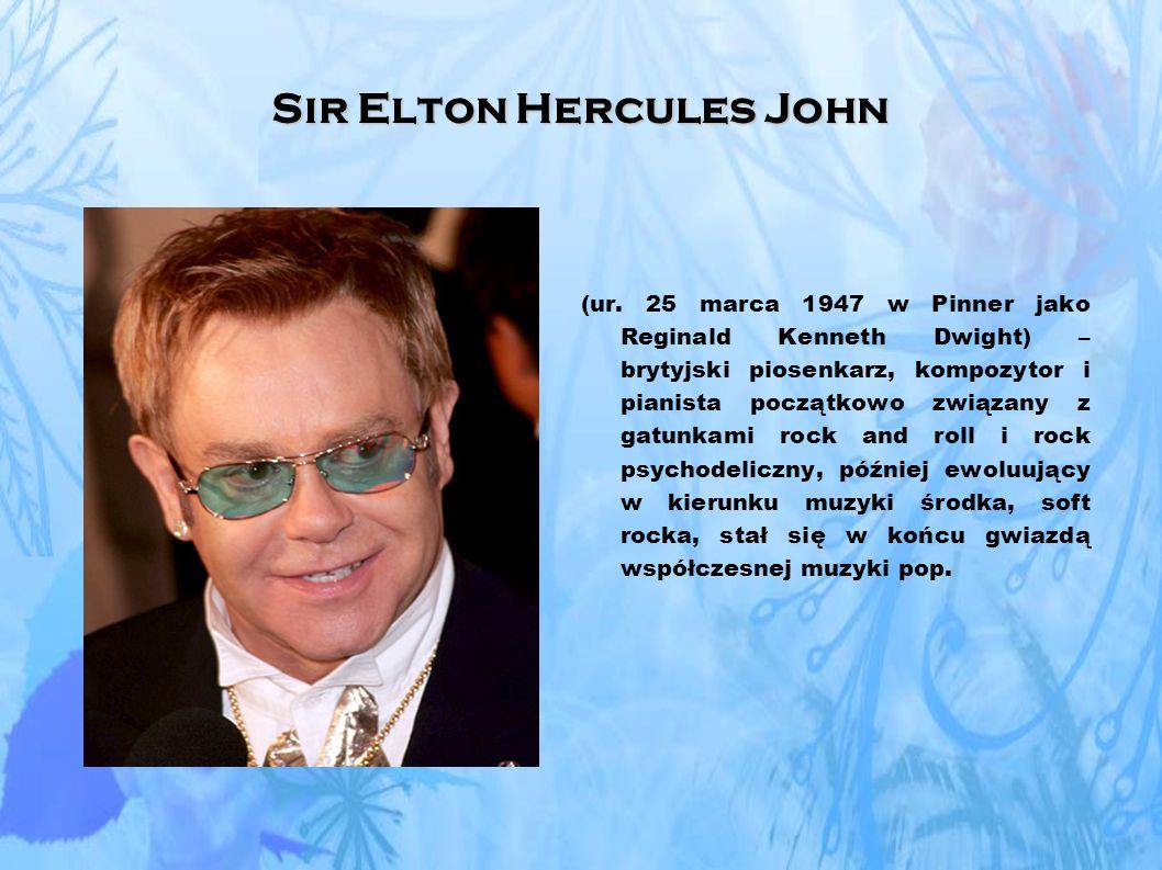 Sir Elton Hercules John (ur.