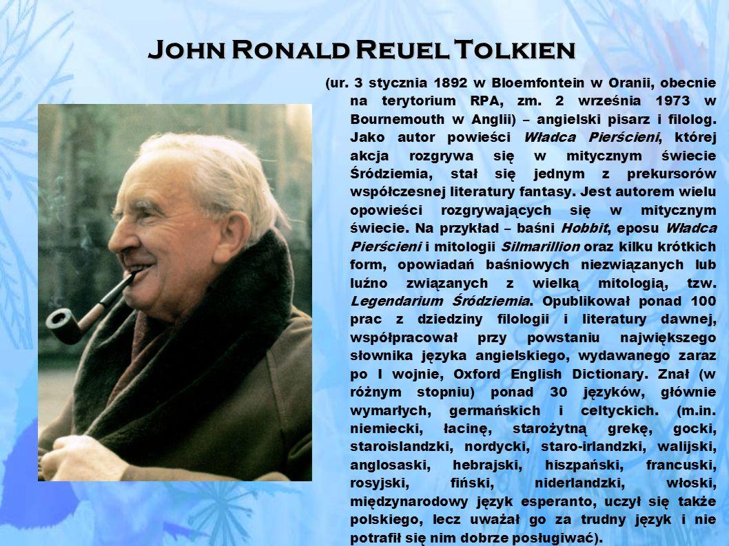 John Ronald Reuel Tolkien (ur.