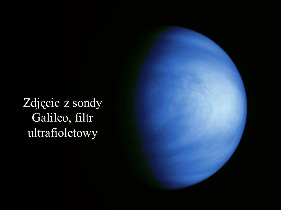 Zdjęcie zewnętrznych chmur Wenus ( teleskop Hubblea)