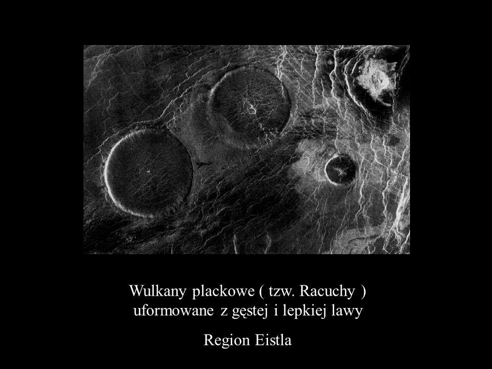 Spękany Region Atla Vulcan Sapas Mons ( ok. 400 km szerokosci)