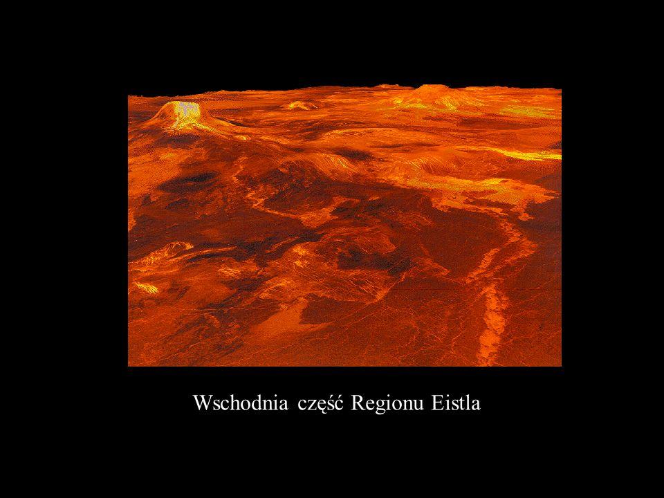 Wulkany plackowe ( średnica ok. 25 km) ; wschodni skraj Regionu Alpha