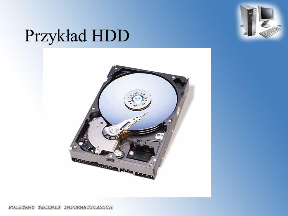 Przykład HDD
