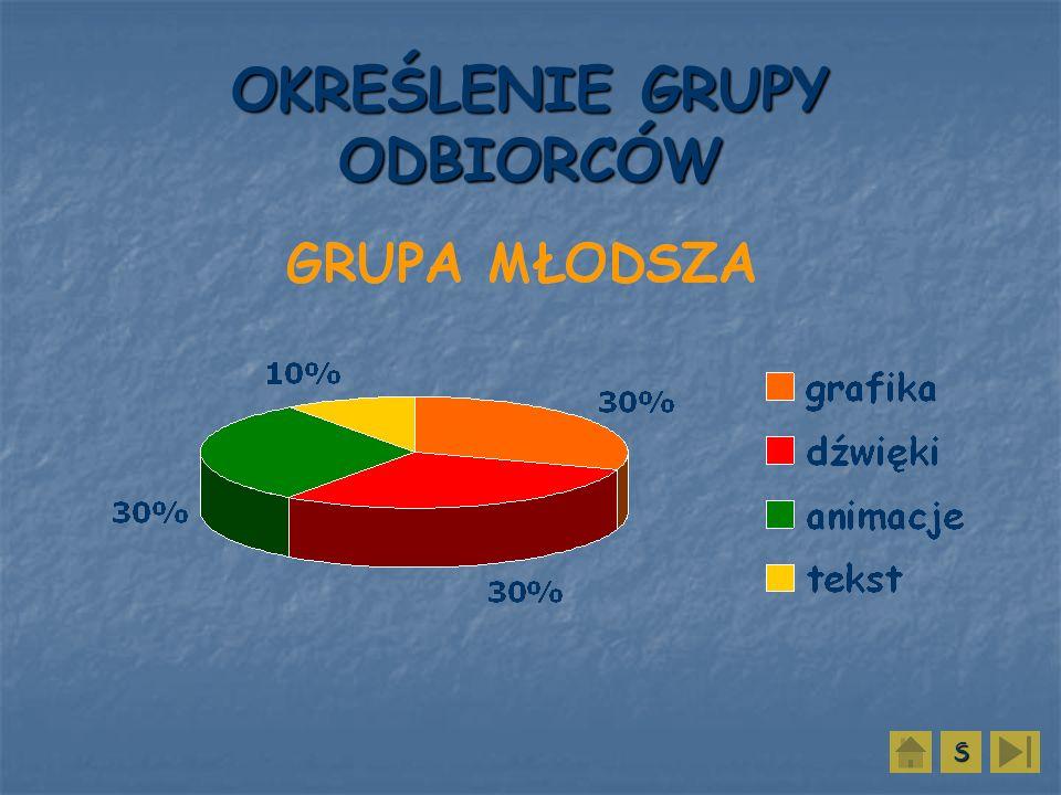 OKREŚLENIE GRUPY ODBIORCÓW SSSS