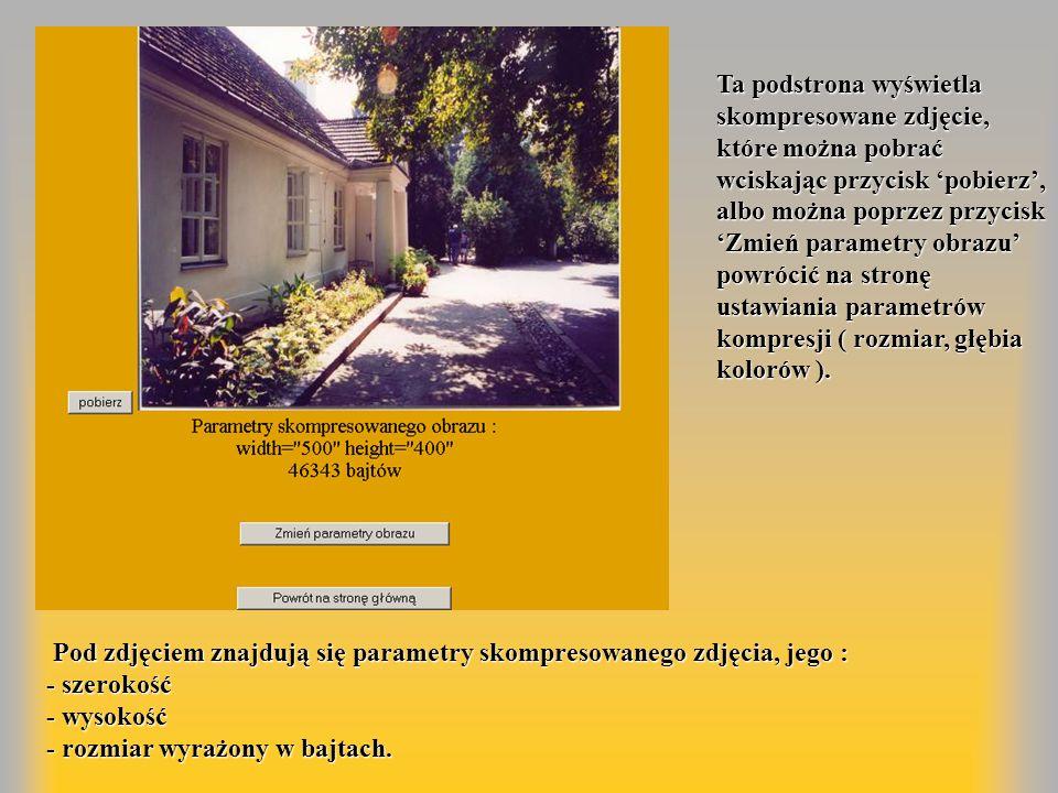 Strona administracyjna dostępna jest dla Internautów znających login i hasło.
