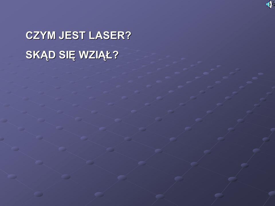 Podstawowe cechy światła laserowego to: minimalna rozbieżność wiązki, gdyż światło laserowe jest spójne i koherentne;minimalna rozbieżność wiązki, gdyż światło laserowe jest spójne i koherentne; monochromatyczność; w laserze rubinowym szerokość linii widmowej nie przekracza na ogół 0,01 mm;monochromatyczność; w laserze rubinowym szerokość linii widmowej nie przekracza na ogół 0,01 mm; równoległość - w laserach stałych rozbieżność wiązki nie przekracza zwykle 10 miliradianów, natomiast w laserach CO 2 utrzymuje się poniżej 2-5 miliradianów;równoległość - w laserach stałych rozbieżność wiązki nie przekracza zwykle 10 miliradianów, natomiast w laserach CO 2 utrzymuje się poniżej 2-5 miliradianów; duża energia promieniowania.duża energia promieniowania.