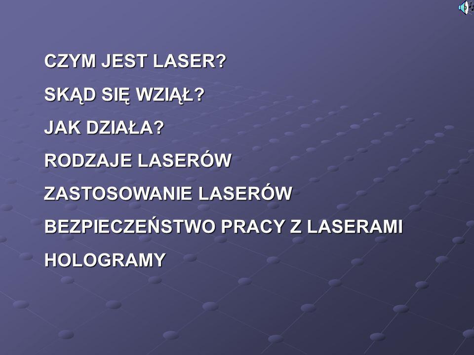 Najpotężniejsze lasery świata Najpotężniejsze lasery świata są używane przede wszystkim do badania struktury atomów i reakcji rozszczepienia.