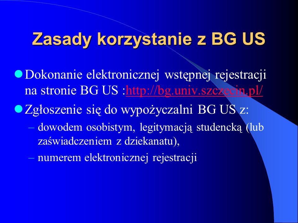 Wyszukiwanie książek w katalogu systemu KOHA http://bg.univ.szczecin.pl/ –Wyszukiwanie poprzez poszczególne pola –Optymalne wyszukiwanie poprzez polew