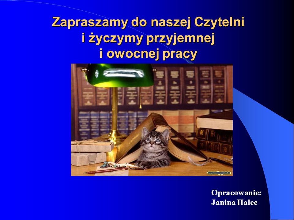 Zasady obowiązujące w Czytelni Wydz. M-F Użytkowników Czytelni obowiązuje: pozostawienie w szatni okryć wierzchnich, pozostawienie toreb i plecaków w