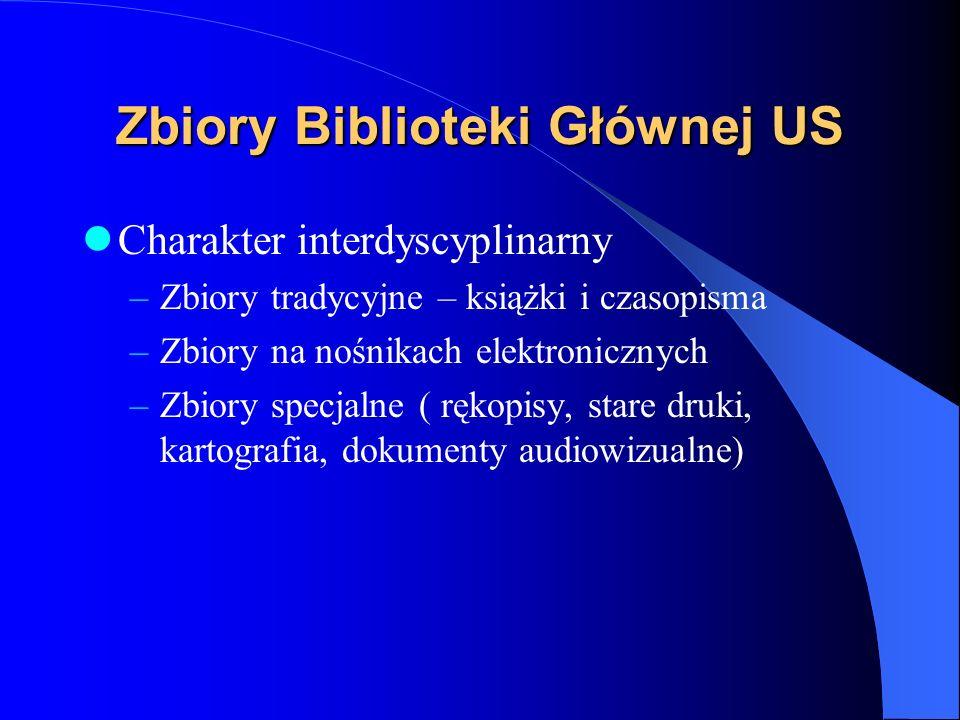 Agendy Biblioteki Głównej US Biblioteka: czytelnia: Wydziału Zarządzania i Ekonomiki Usług(T,TS,TP) ul. Cukrowa 8, tel.: (091) 444-32-22 ( Inf. Nauk.)