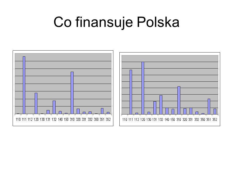 Co finansuje Polska