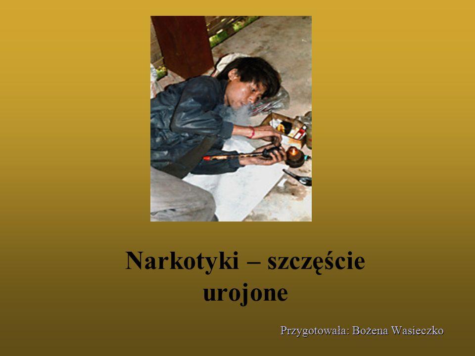 Wykorzystana literatura przedmiotu: 1.Prof. Czesław Cekiera, Ryzyko uzależnień, TNKUL2001, 2.